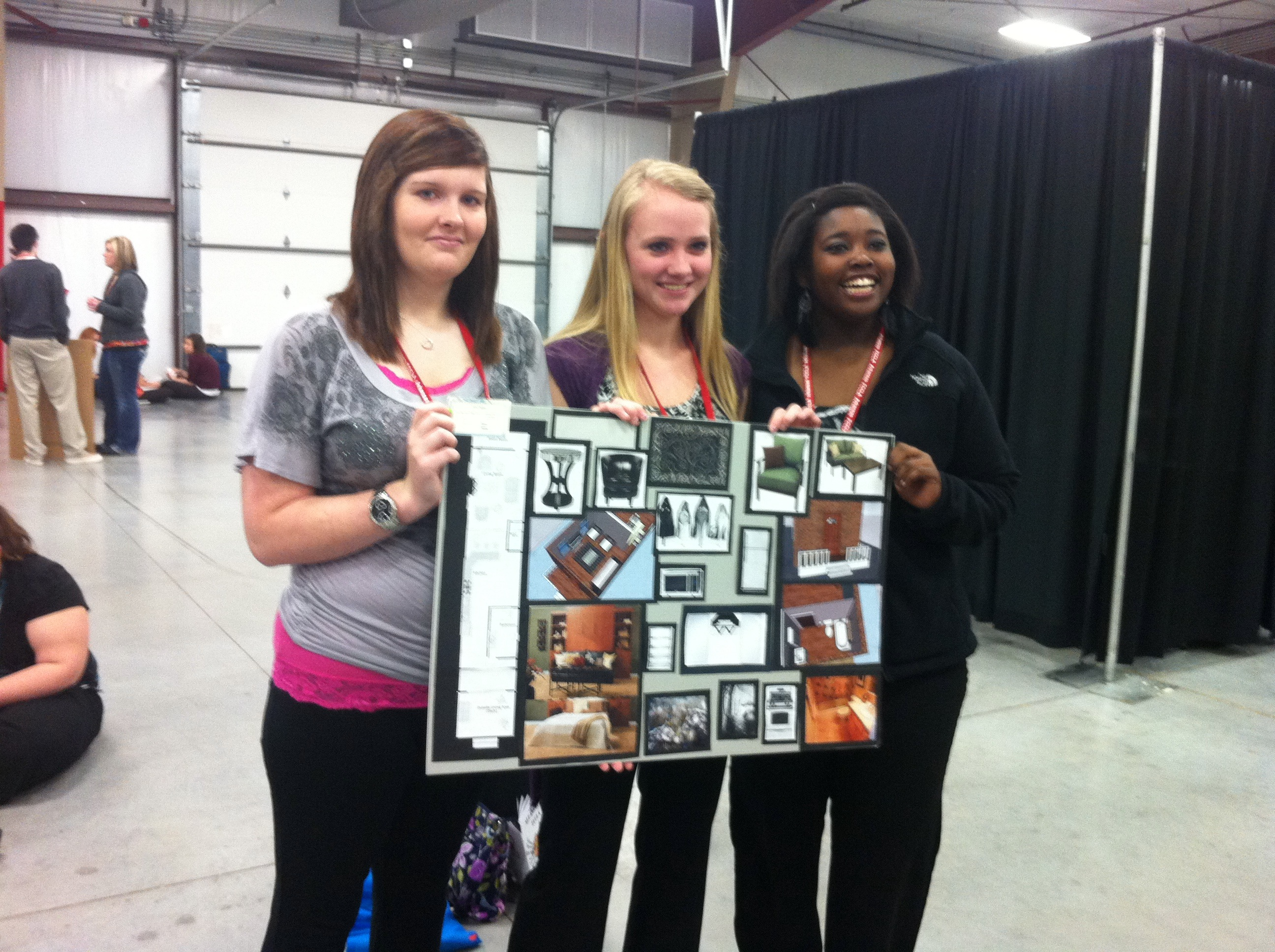 FCCLA State STAR Events 2012 Interior Design Team